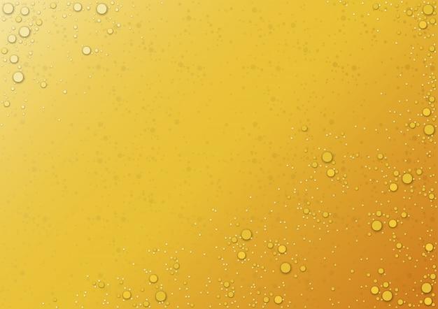 Fundo de gotas na laranja