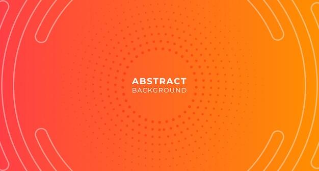Fundo de gradação de ponto de círculo abstrato