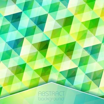 Fundo de grade de cristal abstrato