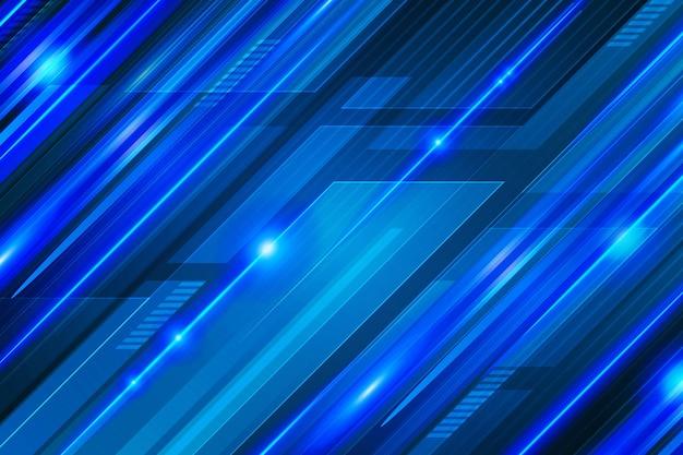 Fundo de gradiente de linhas dinâmicas brilhantes