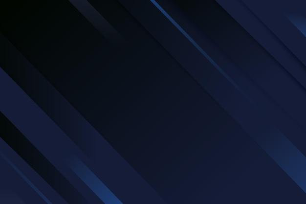 Fundo de gradiente de linhas dinâmicas escuras