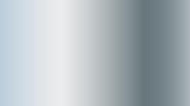 Fundo de gradiente de textura de metal prateado para design gráfico decorativo