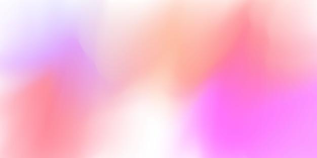 Fundo de gradiente rosa pastel abstrato conceito de ecologia