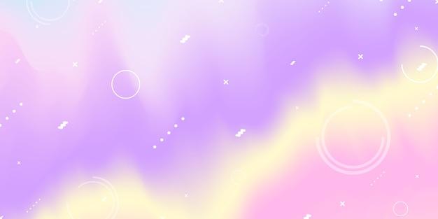 Fundo de gradiente roxo pastel abstrato conceito de ecologia para o seu gráfico, Vetor Premium