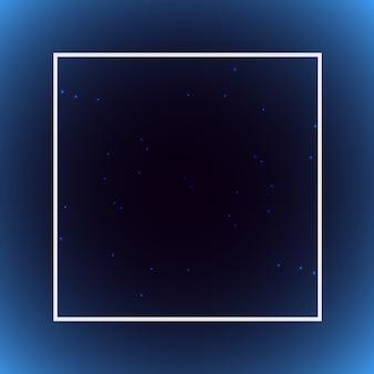 Fundo de gradiente vetorial em tons suaves com um quadro.