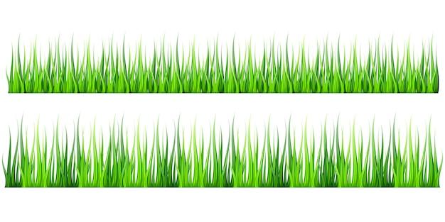 Fundo de grama realista