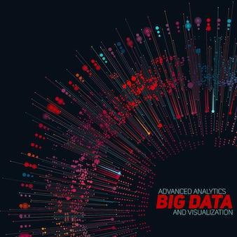 Fundo de grande volume de dados