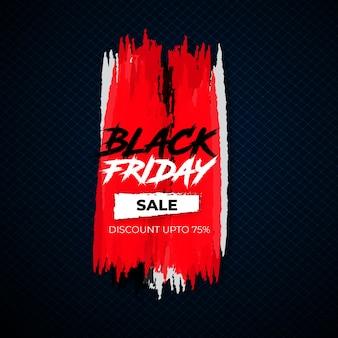 Fundo de grunge de venda especial de sexta-feira negra