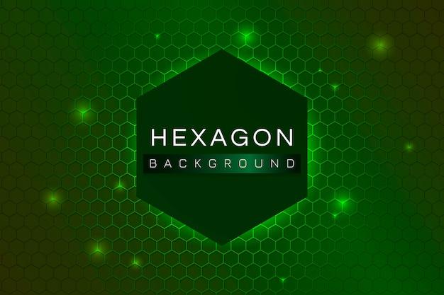 Fundo de hexágono estampado