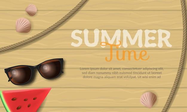 Fundo de horário de verão