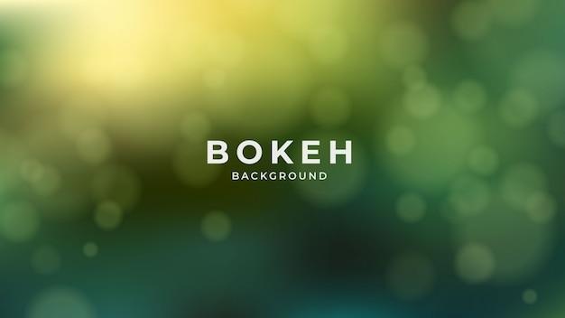 Fundo de iluminação bokeh abstrato moderno