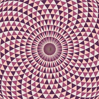 Fundo de ilusão de ótica realista