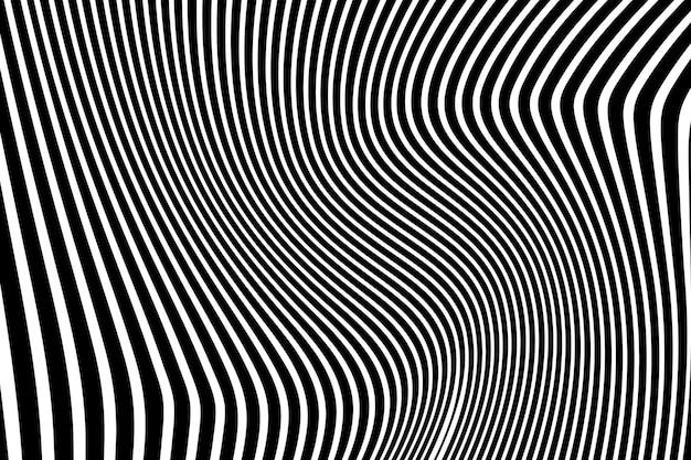 Fundo de ilussão óptica psicodélico