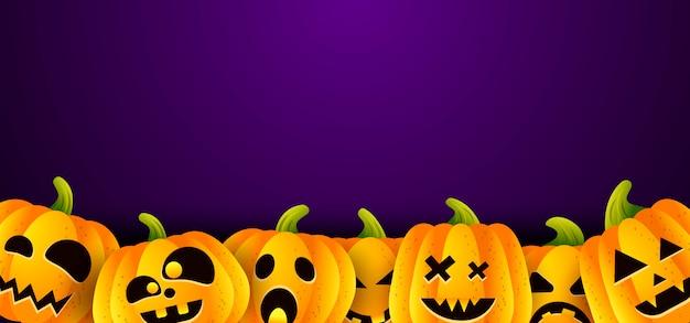 Fundo de ilustração vetorial halloween