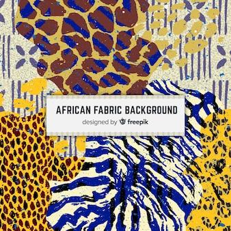 Fundo de impressão tradicional tecido africano