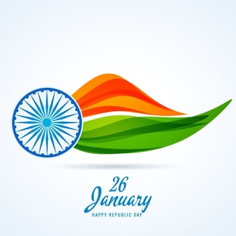 Fundo de indiano dia da república