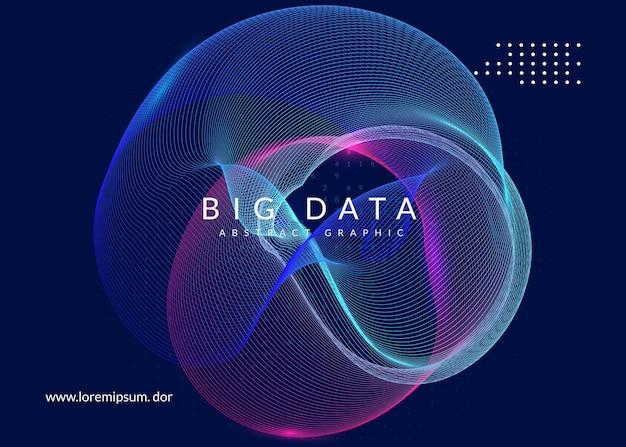 Fundo de inteligência artificial. tecnologia para big data, visualização, aprendizado profundo e computação quântica. modelo de design para o conceito de rede. cenário de inteligência artificial digital.