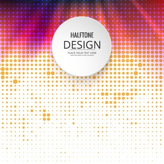 Fundo de intervalo mínimo colorido