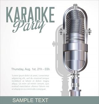 Fundo de karaoke