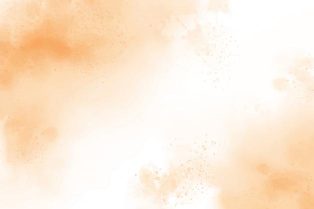 Fundo de lavagem de respingo aquarela marrom claro