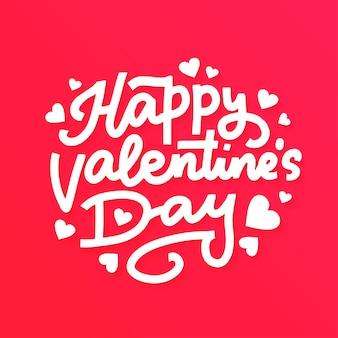 Fundo de letras de dia dos namorados. feliz dia dos namorados texto sobre fundo vermelho