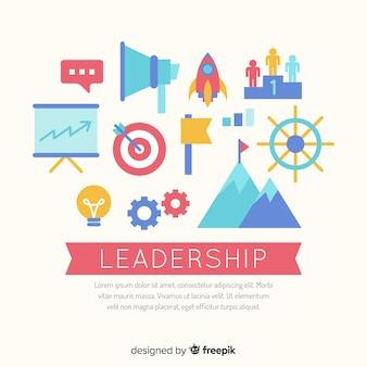 Fundo de liderança plana