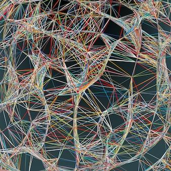 Fundo de linhas abstratas. arquivo incluído