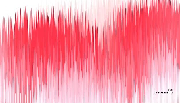 Fundo de linhas abstratas falha vermelho