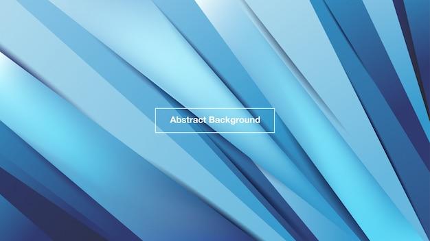 Fundo de linhas azuis de sombra abstrata