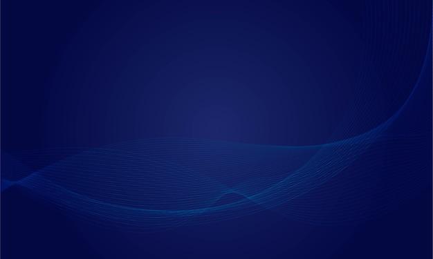 Fundo de linhas de onda dinâmica abstrata