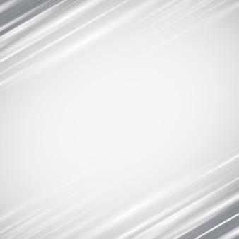 Fundo de linhas diagonais abstratas de borda cinza