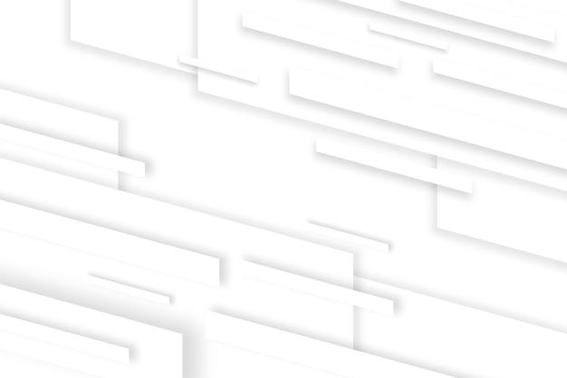 Fundo de linhas dinâmicas de estilo de papel