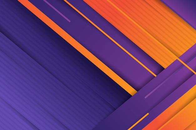 Fundo de linhas dinâmicas de gradiente
