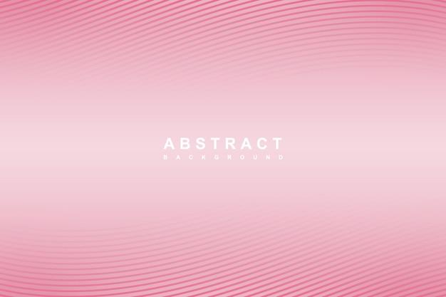 Fundo de linhas onduladas gradiente rosa abstrato
