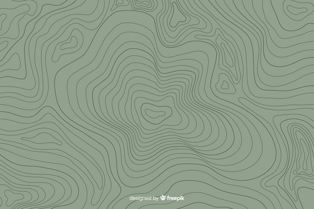 Fundo de linhas topográficas