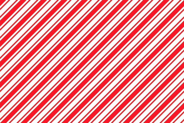 Fundo de listra de bastão de doces. padrão de natal sem emenda. ilustração vetorial.