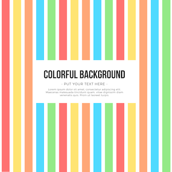 Fundo de listras coloridas