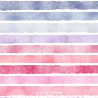 Fundo de listras em aquarela de gradiente