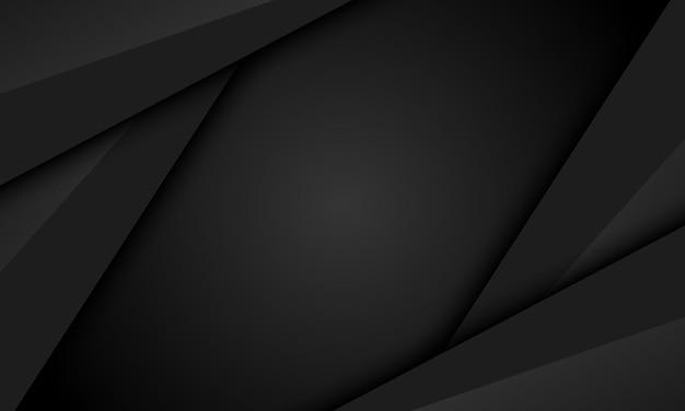Fundo de listras pretas. um novo design para seu banner.