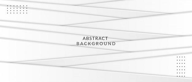 Fundo de luxo abstrato com forma de onda cinza branca