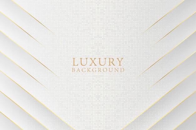 Fundo de luxo branco abstrato moderno