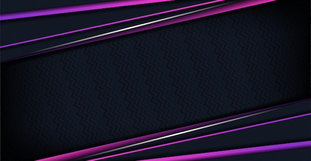 Fundo de luxo com formas abstratas roxas