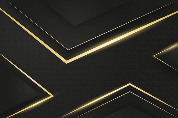 Fundo de luxo de ouro