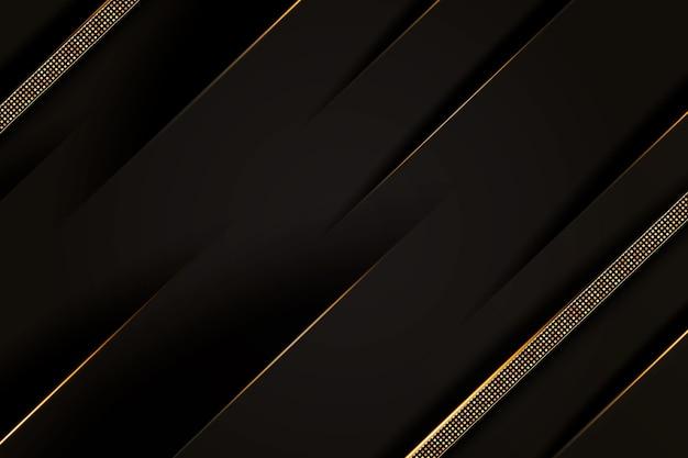 Fundo de luxo dourado gradiente