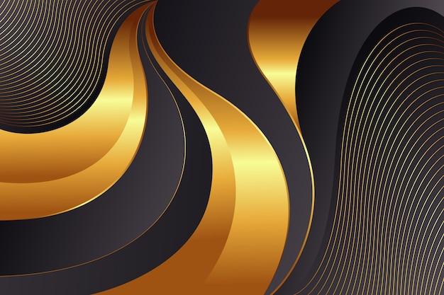 Fundo de luxo dourado premium