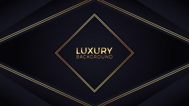 Fundo de luxo ouro preto
