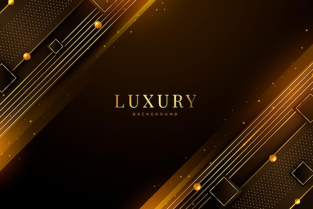 Fundo de luxo realista