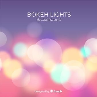 Fundo de luzes de bokeh