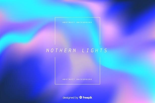 Fundo de luzes do norte