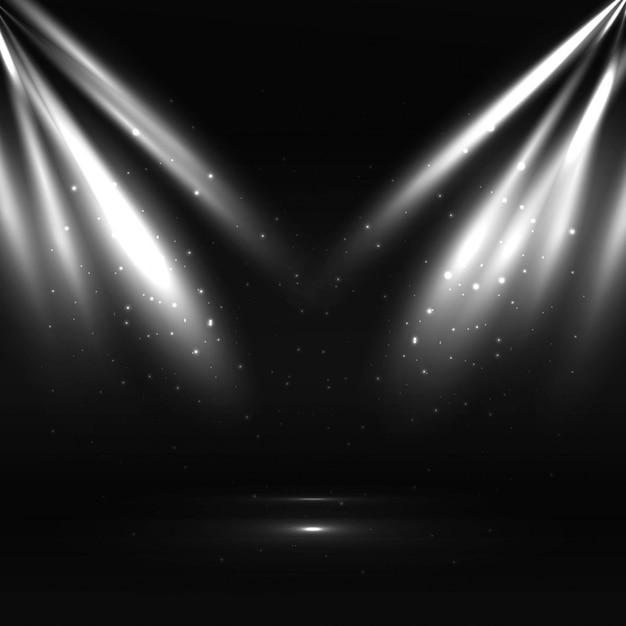 Fundo de luzes modernas